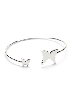 Gynning Jewelry Floating Butterfly Bracelet Silver Bubbleroom.se