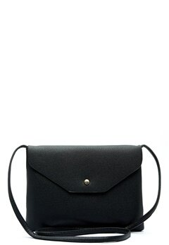 New Look Foldover Zip Crossbody Black Bubbleroom.no