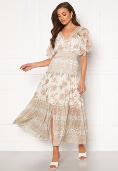 FOREVER NEW Darla Tiered Maxi Dress Jacobean Blossom Bubbleroom.se