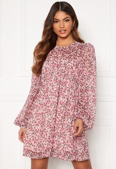 FOREVER NEW Michelle Ruched Tunic Blush Floral Bubbleroom.se
