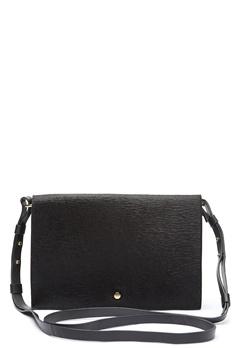 TIGER OF SWEDEN Fowley Leather Handbag Black Bubbleroom.se