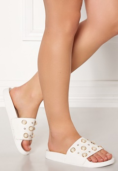 Francesco Milano Ciabattina Vernice Shoes Bianco Bubbleroom.se