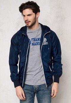 Franklin & Marshall Jackets Uni Zip Navy Bubbleroom.se