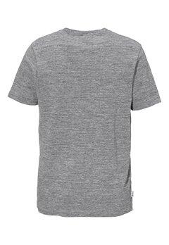 Franklin & Marshall Jersey T-Shirt 023 Black Melange Bubbleroom.se
