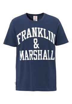 Franklin & Marshall T-Shirt 167 Navy Bubbleroom.se