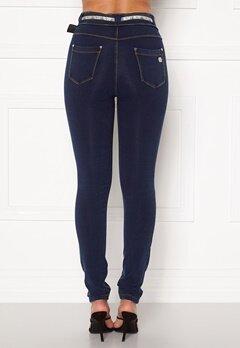 FREDDY N.O.W. Pants MW Skinny J0Y (Mörk Denim) Bubbleroom.se