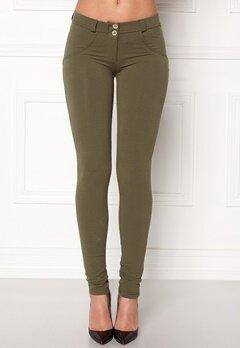 FREDDY Skinny Shaping RW Legging Turtle Green Jersey Bubbleroom.no