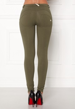 FREDDY Skinny Shaping RW Legging Turtle Green Jersey Bubbleroom.fi