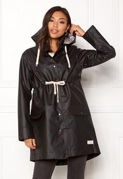 Odd Molly Free Range Rainjacket Almost Black Bubbleroom.se