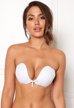 Freebra Lux Lace Bra White Bubbleroom.se
