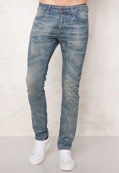 G-STAR 3301 Slim Jeans Medium Aged Denim Bubbleroom.se