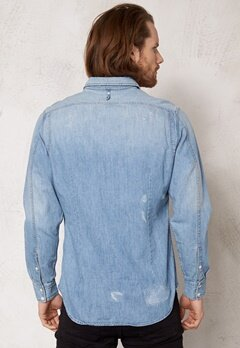 G-STAR Wolker Shirt l/s It aged restored 59 Bubbleroom.se