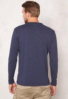 G-STAR Yedur Pocket l/s T-shirt Sartho Blue Bubbleroom.se