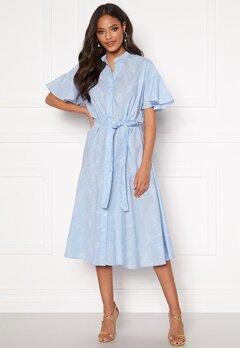 GANT Pure Prep Printed Dress 420 Hamptons Blue Bubbleroom.se