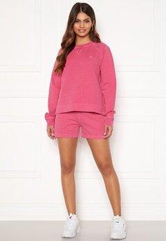 GANT Sunfaded Sweat Shorts 673 Cabaret Pink Bubbleroom.se