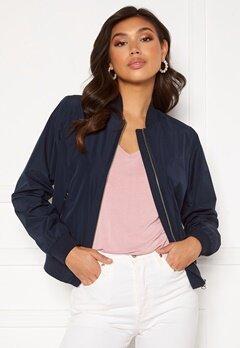 GANT Zip Up Blouson Jacket 433 Evening Blue Bubbleroom.se