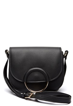Pieces Gemma Crossbody Black Bubbleroom.fi