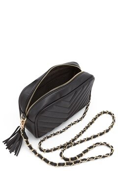 Gessy Tassel Chain Bag Black Bubbleroom.se