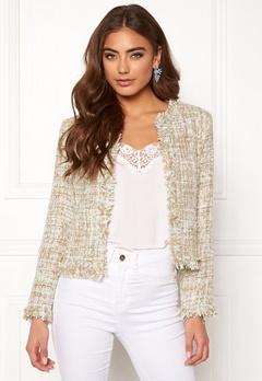 Girl In Mind Sienna Crop Jacket Mint Bubbleroom.se