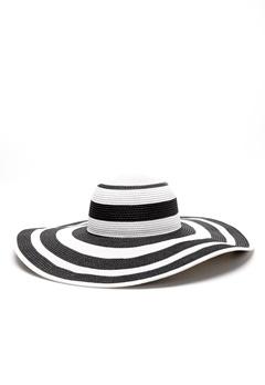 Rut & Circle Giselle Hat Black/White Bubbleroom.fi