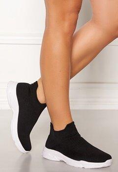 Glossy Bell Sneakers Black Bubbleroom.se
