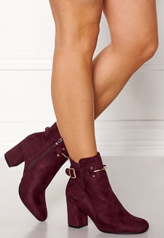 Glossy Halle Boots Wine Bubbleroom.se