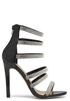 Glossy Milan High Heel Shoe Blk Bubbleroom.se