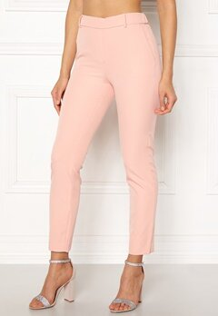 ONLY Glowing Mid Ankle Pant Cameo Rose Bubbleroom.se