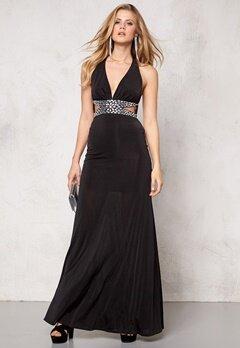 Goddiva Dress Black Bubbleroom.no