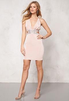 Goddiva Dress Champagne Bubbleroom.no