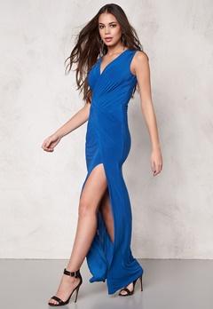 Goddiva Dress Royal Blue Bubbleroom.eu