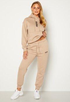 Guess Alisha Long Pants Gold Beige Bubbleroom.se