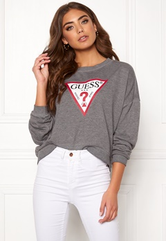 Guess Basic Fleece Burn Grey Bubbleroom.se