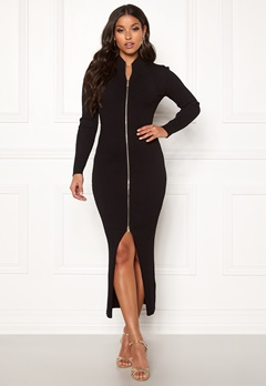 Guess Brigida Dress Noir de Jais Bubbleroom.se