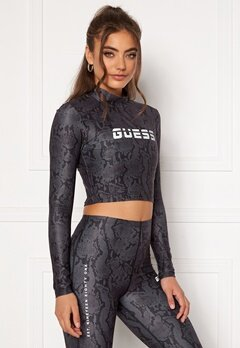 Guess Cropped Top Long Sleeve GBAM Bubbleroom.se
