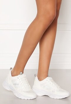 Guess Flaus Sneakers White Bubbleroom.se