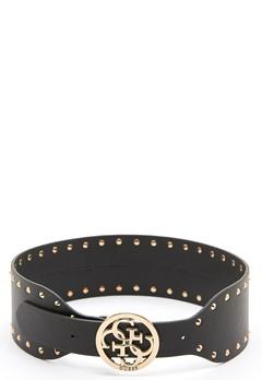 Guess Mika Soft Waist Belt Black/Gold Bubbleroom.se
