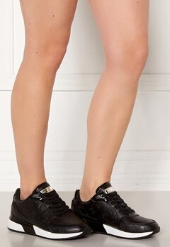 Guess Moxea2 Act Leather Like Black bubbleroom.se