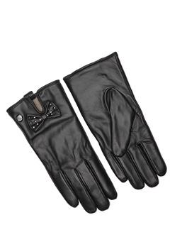Guess Not Coordinated Gloves Black Bubbleroom.se