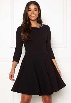 Guess Ornella Dress Jet Black Bubbleroom.se