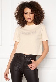 Guess T-Shirt G65A White Blush Bubbleroom.se