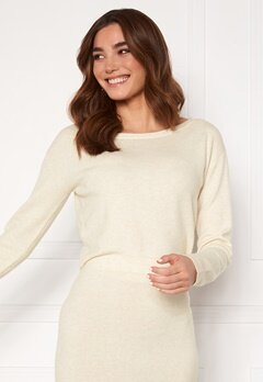 Guess Tanya Boat Neck Pullover F33 Oatmeal Heather Bubbleroom.se