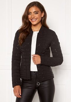 Guess Vera Jacket JBLK Jet Black A996 Bubbleroom.se