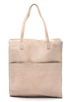Pieces Gwen Suede Shopper Rose Dust Bubbleroom.se