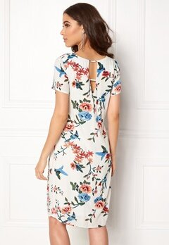 Happy Holly Addy dress Offwhite / Patterned Bubbleroom.se