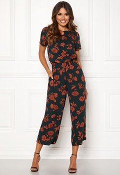 Happy Holly Addy wide pants Patterned Bubbleroom.se