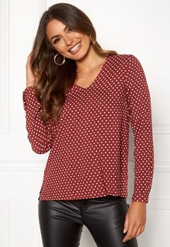 Happy Holly Adele blouse Dotted Bubbleroom.se