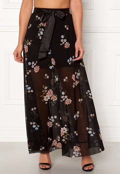 Happy Holly Alaina maxi skirt Black Bubbleroom.se