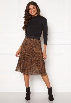 Happy Holly Alaina mesh skirt Leopard Bubbleroom.se