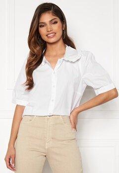 Happy Holly Alexandra blouse White Bubbleroom.se